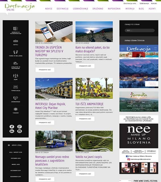 spletni portal destinacija.net