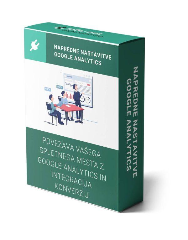 napredne nastavitve google analytics