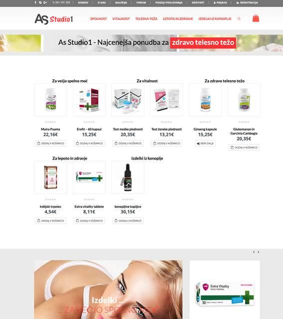 spletna trgovina za zdravo težo asstudio1.si