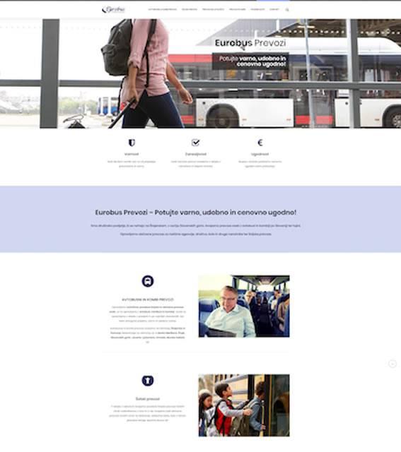 eurobus prevozi spletna stran