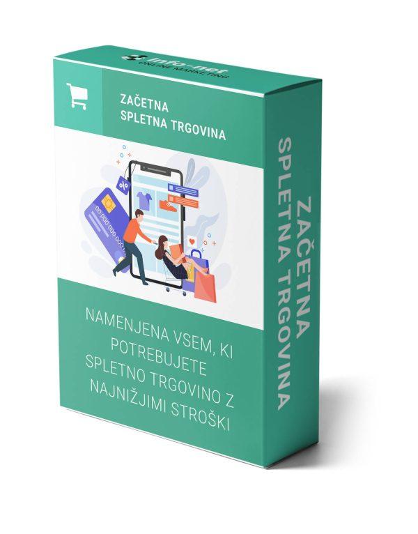 izdelava spletne trgovine paket začetni
