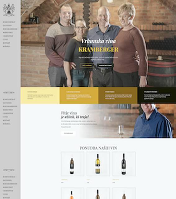spletna trgovina vina kramberger