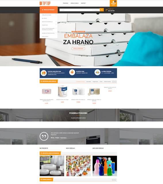 tiptop spletna trgovina
