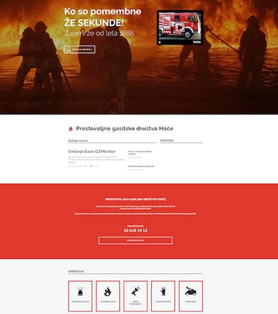 gasilci hoce spletna stran