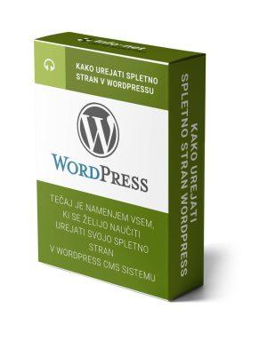 kako urejati spletno stran wordpress